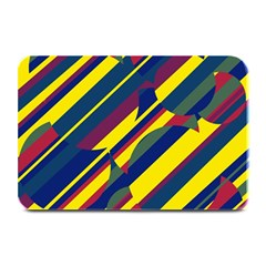 Colorful Pattern Plate Mats by Valentinaart