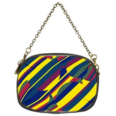 Colorful Pattern Chain Purses (one Side)  by Valentinaart