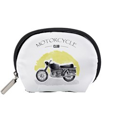 Vintage Watercolor Motorcycle Accessory Pouches (small)