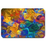 ABSTRACT FORMATED TEMPLATE  FOR DOORMAT MATCHING SET  : Set Matching  Doormat Template s Product - Large Doormat