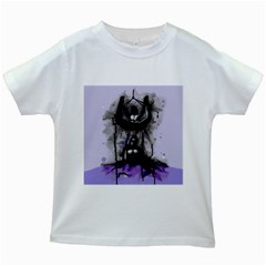 Suspension Kids White T Shirts by lvbart