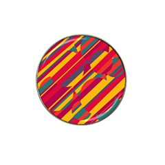 Colorful Hot Pattern Hat Clip Ball Marker (10 Pack) by Valentinaart