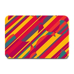 Colorful Hot Pattern Plate Mats by Valentinaart