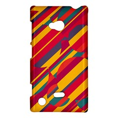 Colorful Hot Pattern Nokia Lumia 720 by Valentinaart