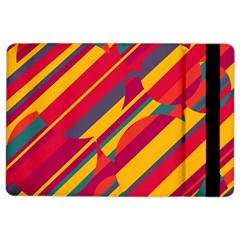 Colorful Hot Pattern Ipad Air 2 Flip by Valentinaart