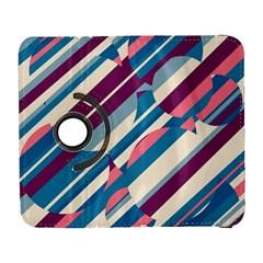 Blue And Pink Pattern Samsung Galaxy S  Iii Flip 360 Case by Valentinaart