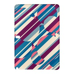 Blue And Pink Pattern Samsung Galaxy Tab Pro 12 2 Hardshell Case by Valentinaart