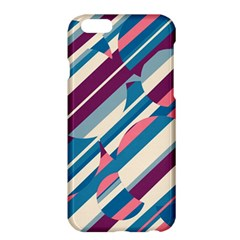 Blue And Pink Pattern Apple Iphone 6 Plus/6s Plus Hardshell Case by Valentinaart