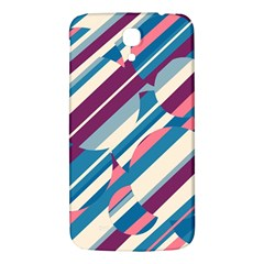 Blue And Pink Pattern Samsung Galaxy Mega I9200 Hardshell Back Case by Valentinaart
