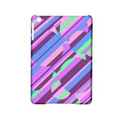 Pink, Purple And Green Pattern Ipad Mini 2 Hardshell Cases by Valentinaart