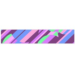 Pink, Purple And Green Pattern Flano Scarf (large) by Valentinaart