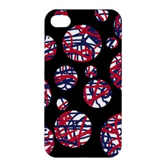 Colorful Decorative Pattern Apple Iphone 4/4s Hardshell Case by Valentinaart