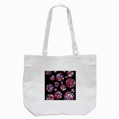 Colorful Decorative Pattern Tote Bag (white) by Valentinaart