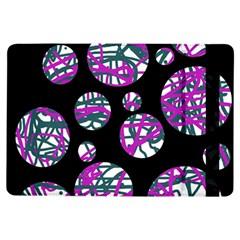 Purple Decorative Design Ipad Air Flip by Valentinaart