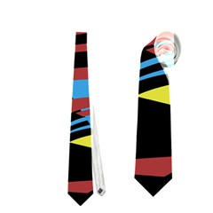 Colorful Decorative Abstrat Design Neckties (two Side)