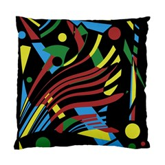 Colorful Decorative Abstrat Design Standard Cushion Case (two Sides) by Valentinaart