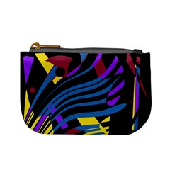 Decorative Abstract Design Mini Coin Purses by Valentinaart