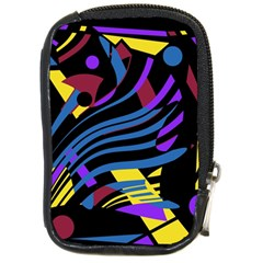 Decorative Abstract Design Compact Camera Cases by Valentinaart