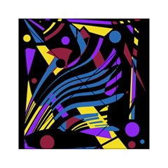 Decorative Abstract Design Acrylic Tangram Puzzle (6  X 6 ) by Valentinaart
