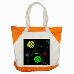 Colorful Design Accent Tote Bag by Valentinaart