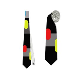 Colorful Pattern Neckties (two Side)  by Valentinaart