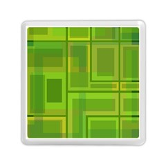 Green Pattern Memory Card Reader (square)  by Valentinaart