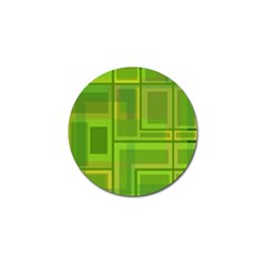 Green Pattern Golf Ball Marker by Valentinaart