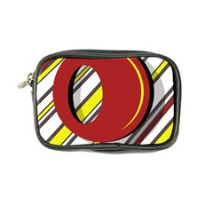 Red And Yellow Design Coin Purse by Valentinaart