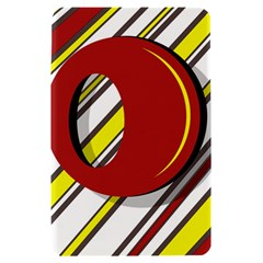Red and yellow design Kindle Fire (1st Gen) Hardshell Case