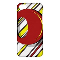 Red And Yellow Design Apple Iphone 5c Hardshell Case by Valentinaart