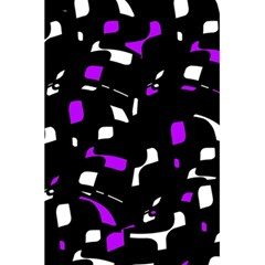 Purple, Black And White Pattern 5 5  X 8 5  Notebooks by Valentinaart