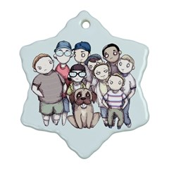 Sandlot Ornament (Snowflake)  by lvbart