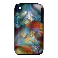 More Evidence Of Angels Apple Iphone 3g/3gs Hardshell Case (pc+silicone) by WolfepawFractals