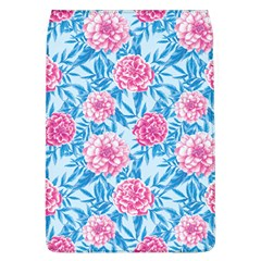 Blue & Pink Floral Flap Covers (l)  by TanyaDraws