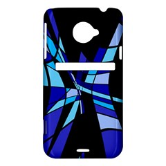 Blue abstart design HTC Evo 4G LTE Hardshell Case