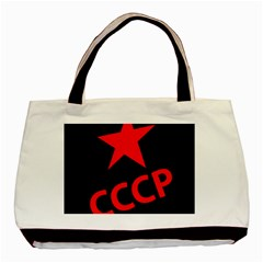 Russia Basic Tote Bag (two Sides) by Valentinaart