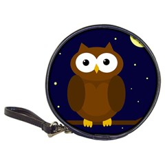 Cute Owl Classic 20 Cd Wallets by Valentinaart
