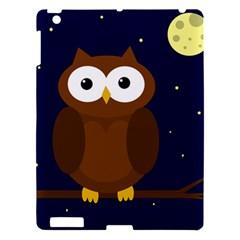 Cute Owl Apple Ipad 3/4 Hardshell Case by Valentinaart