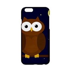 Cute Owl Apple Iphone 6/6s Hardshell Case by Valentinaart