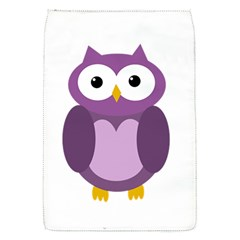 Purple Transparetn Owl Flap Covers (s)  by Valentinaart