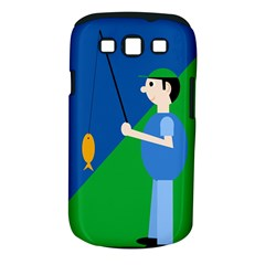 Fisherman Samsung Galaxy S Iii Classic Hardshell Case (pc+silicone) by Valentinaart