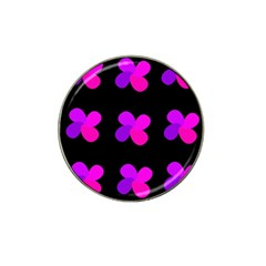 Purple Flowers Hat Clip Ball Marker (10 Pack) by Valentinaart