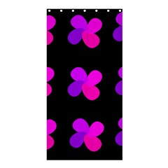 Purple Flowers Shower Curtain 36  X 72  (stall)  by Valentinaart
