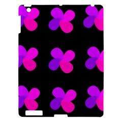Purple Flowers Apple Ipad 3/4 Hardshell Case by Valentinaart