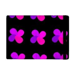 Purple Flowers Apple Ipad Mini Flip Case by Valentinaart
