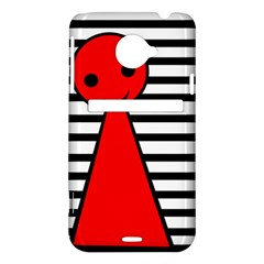 Red pawn HTC Evo 4G LTE Hardshell Case
