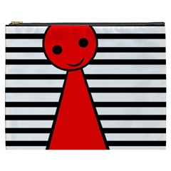 Red Pawn Cosmetic Bag (xxxl)  by Valentinaart
