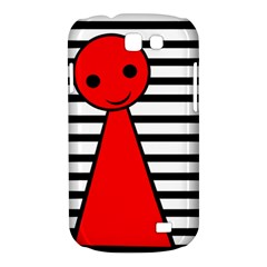 Red pawn Samsung Galaxy Express I8730 Hardshell Case  by Valentinaart