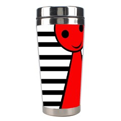 Red Pawn Stainless Steel Travel Tumblers by Valentinaart