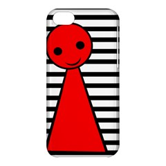 Red Pawn Apple Iphone 5c Hardshell Case by Valentinaart
